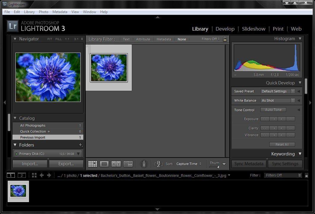 pantallazo Adobe Photoshop Lightroom CC_0