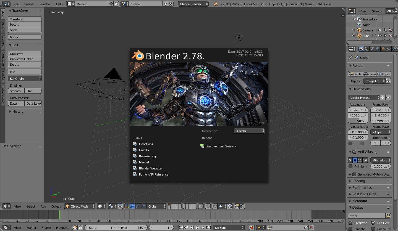 pantallazo Blender_3