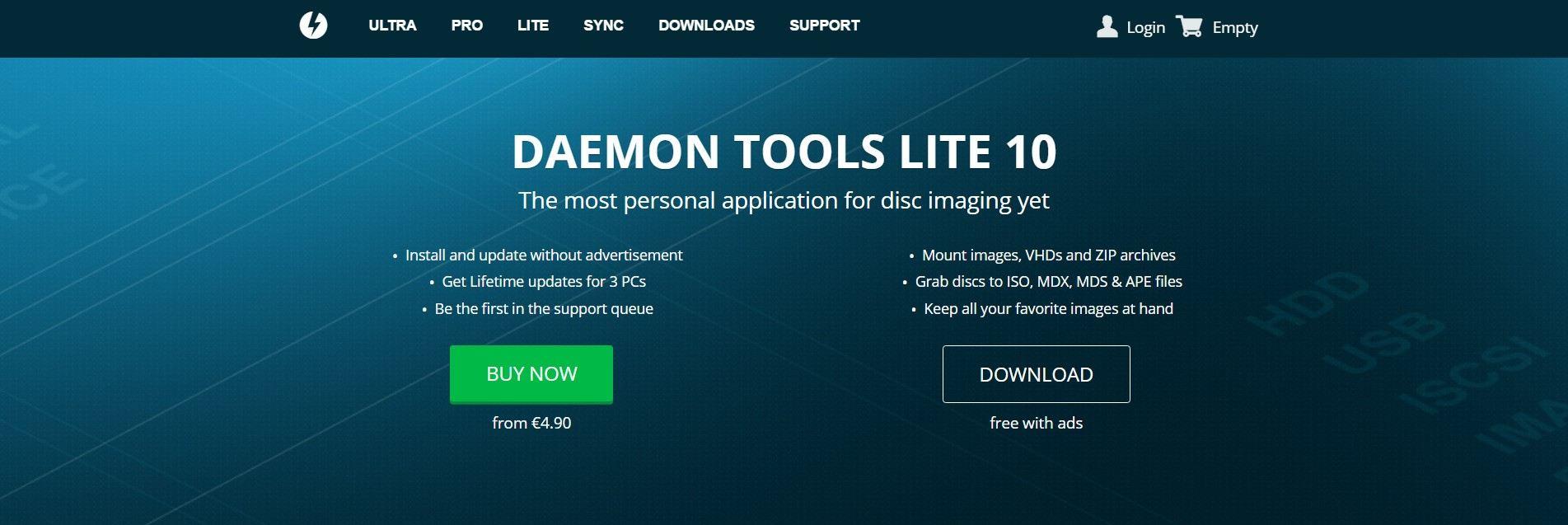pantallazo DAEMON Tools_0