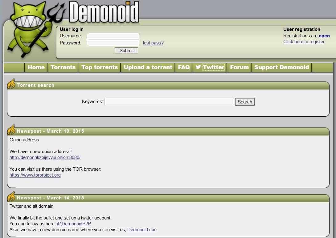 pantallazo Demonoid_0