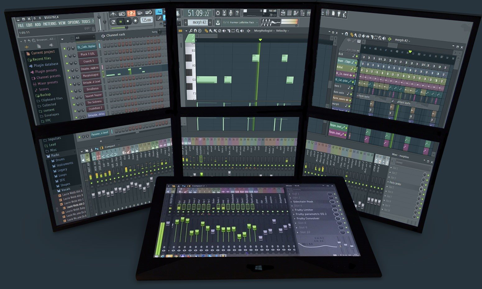 pantallazo FL Studio_1