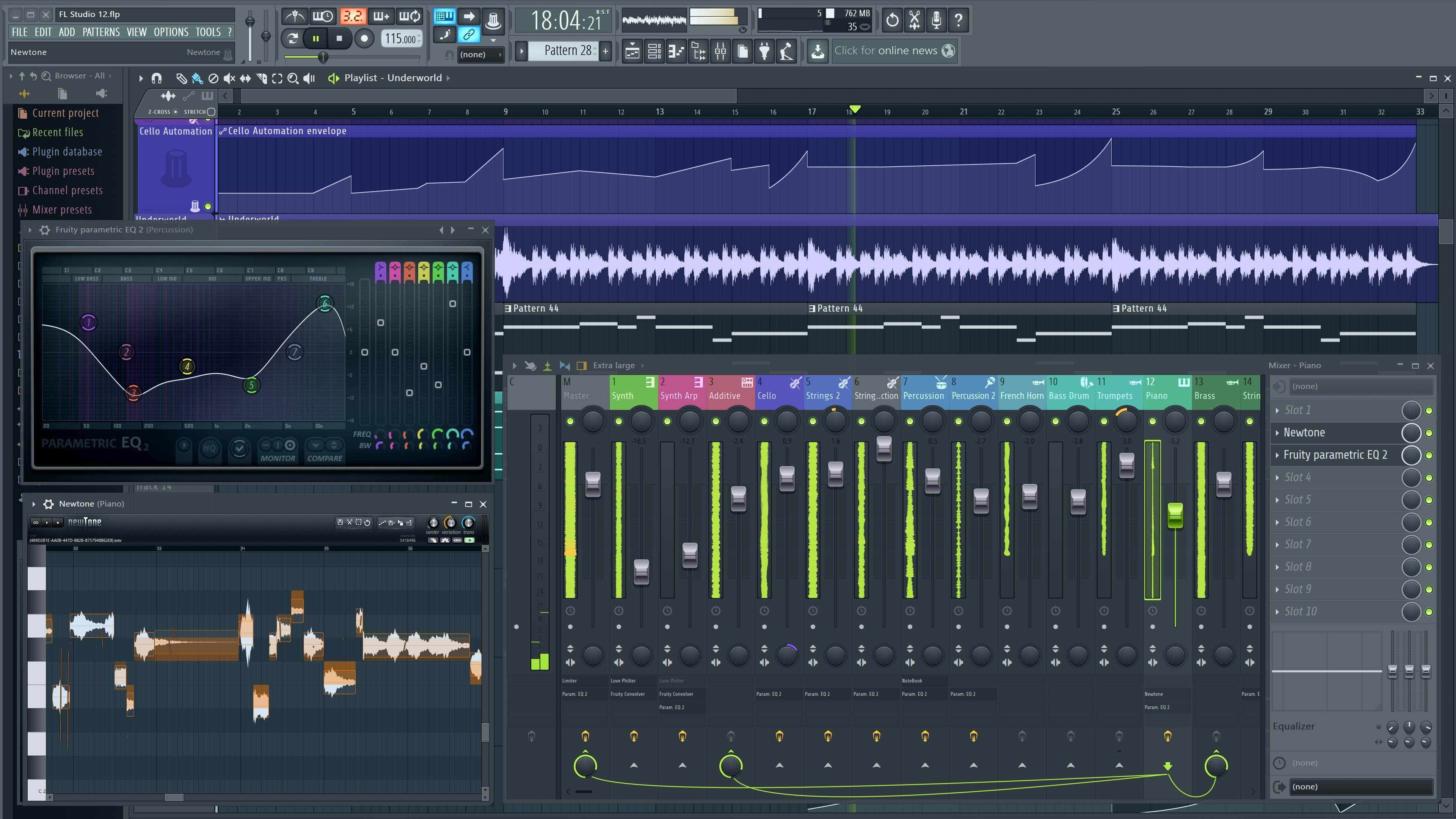 pantallazo FL Studio_5