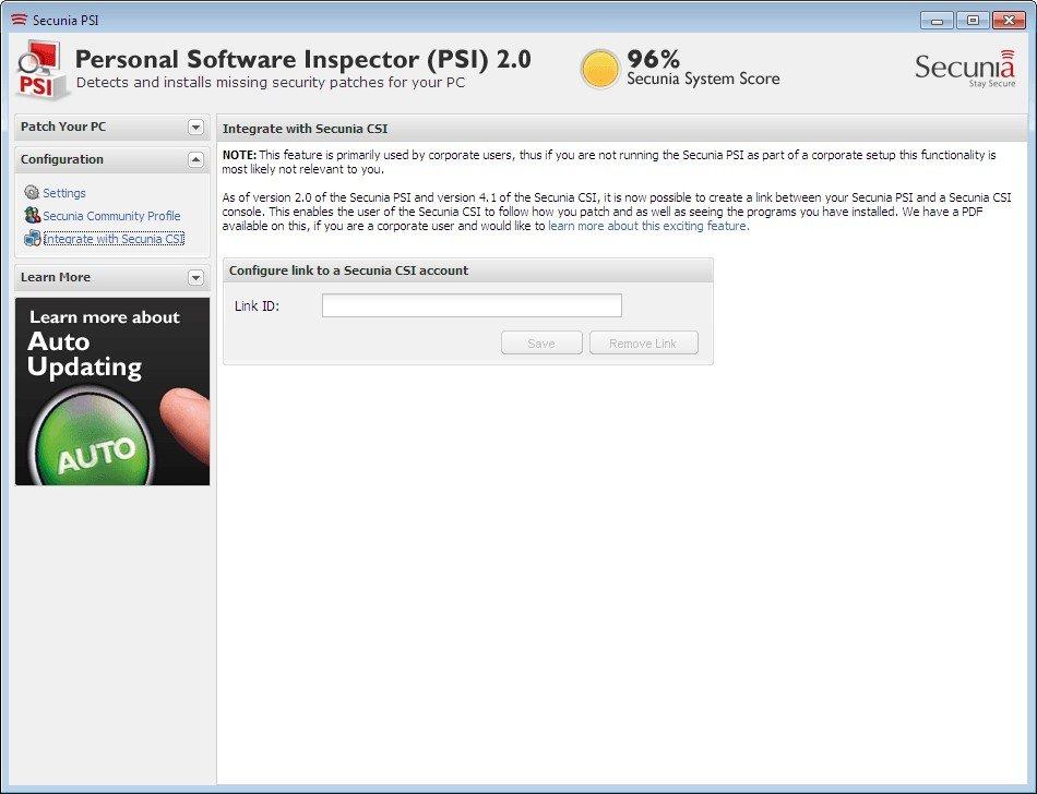 pantallazo Flexera PSI_6