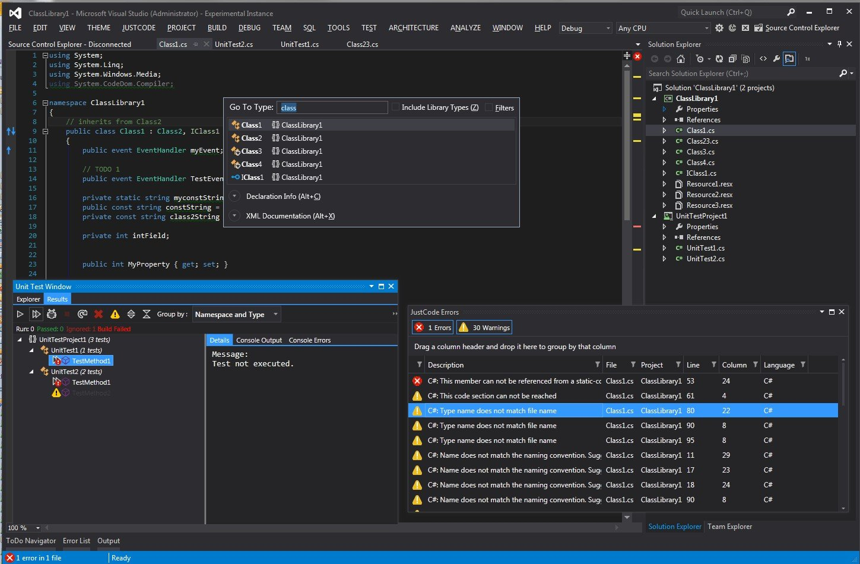 pantallazo Microsoft Visual Studio_2