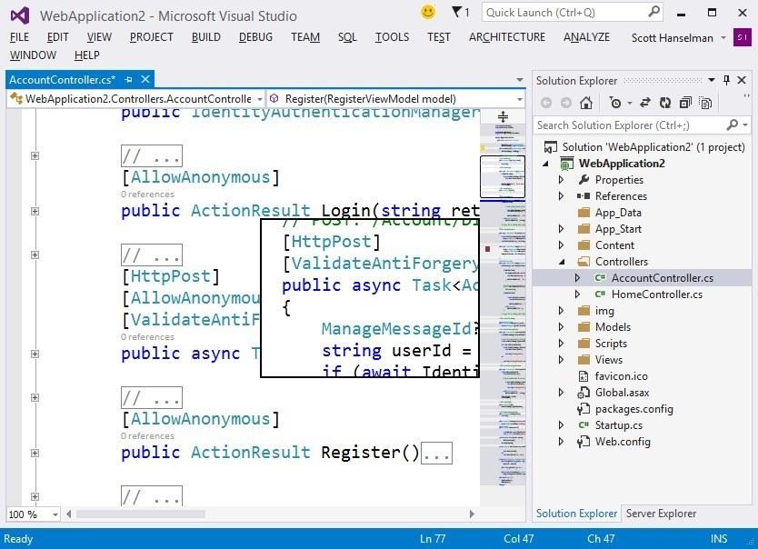 pantallazo Microsoft Visual Studio_4