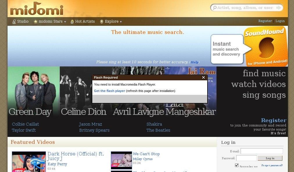 captura_pantalla Midomi_0