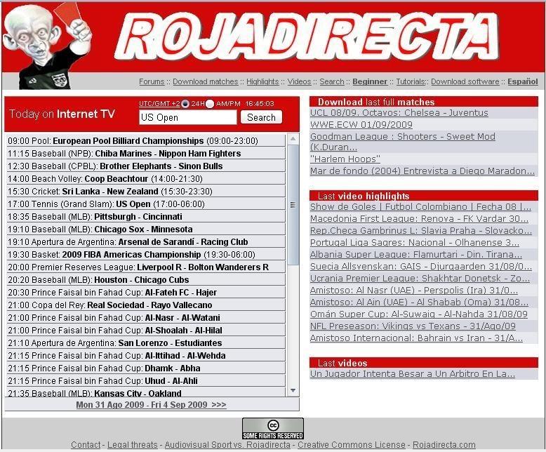 pantallazo Rojadirecta_0