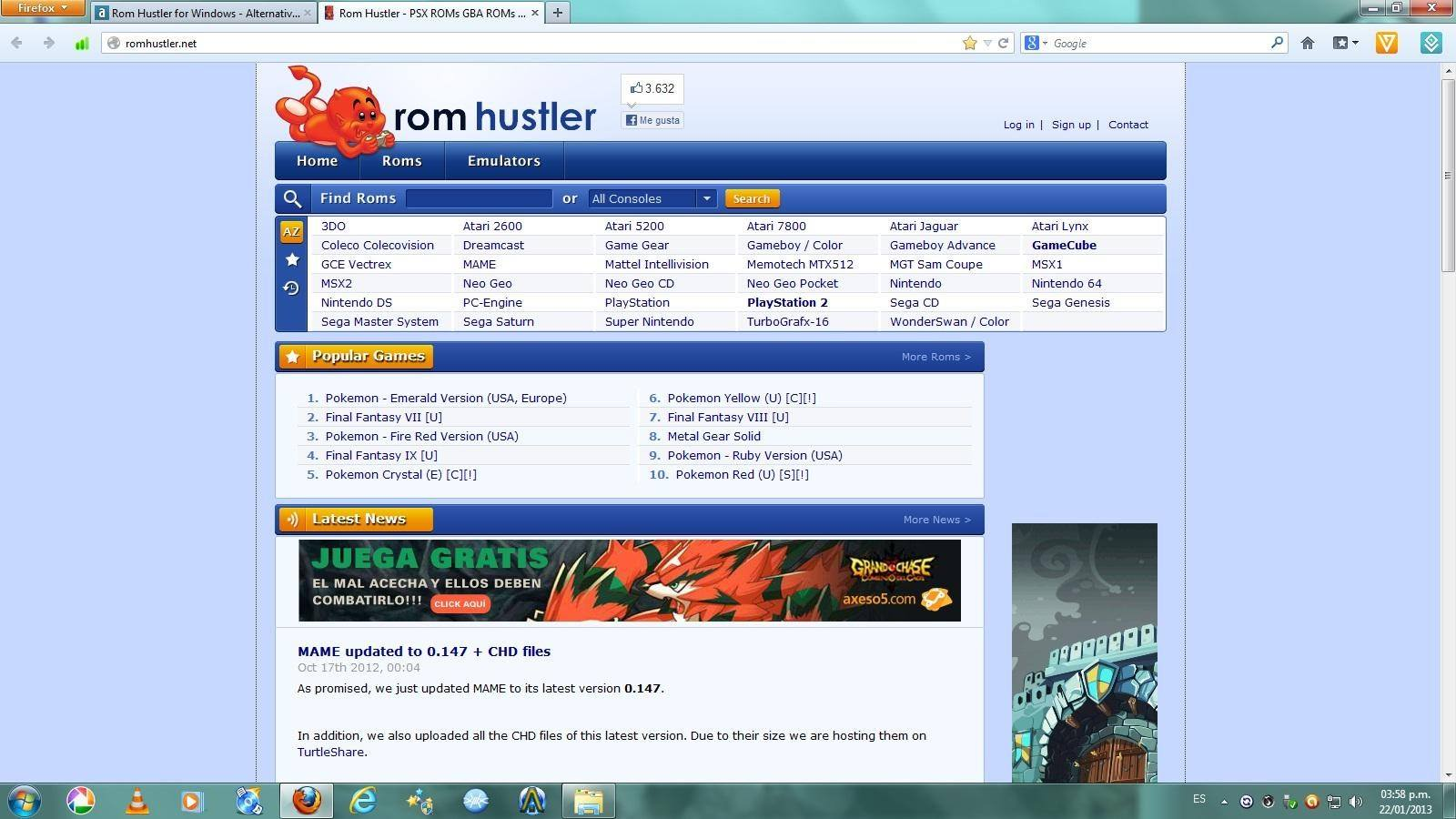 pantallazo Rom Hustler_0