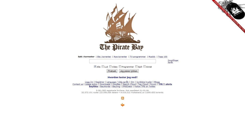 pantallazo The Pirate Bay_0