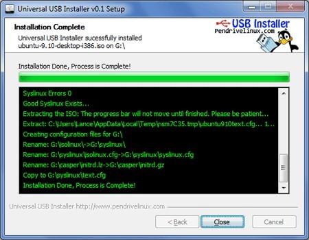 pantallazo Universal USB Installer_0