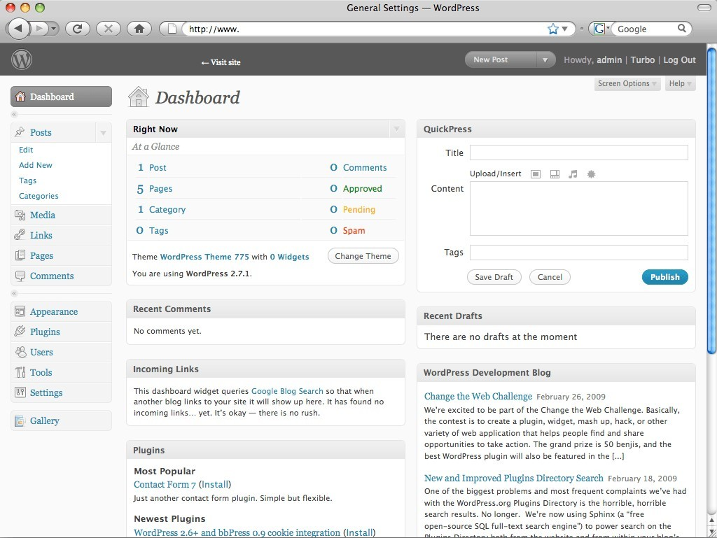pantallazo WordPress_2